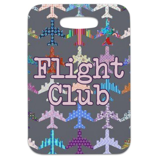 Flight Club Bag Tag