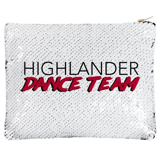 Flip Sequin Highlander Make-Up Bag