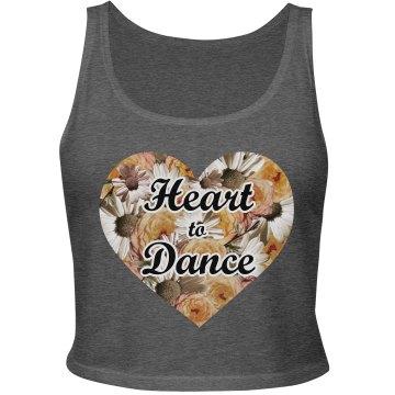 Floral Heart Dancing