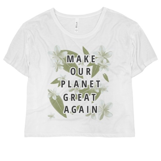 Floral make our Planet Great Again