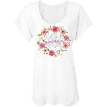 Floral Scentabellas Raglan tee