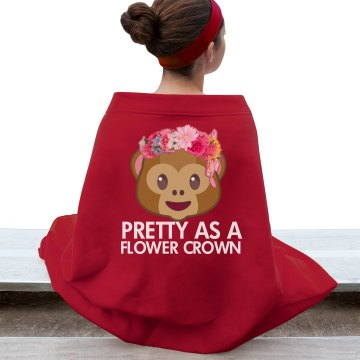 Flower Crown Blanket