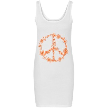 Flower Peace Dress