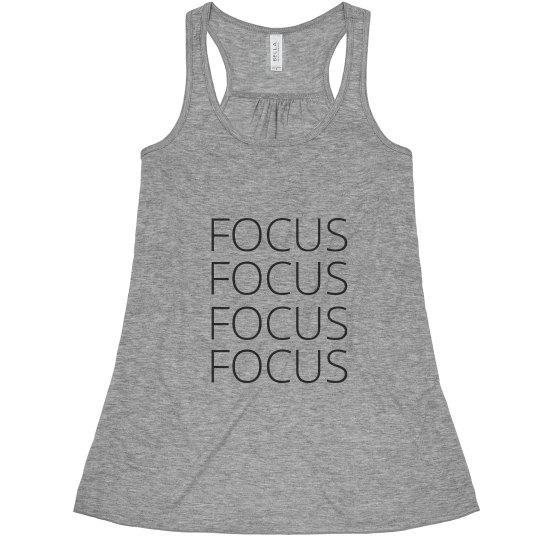 Focus Hard Flowy Tank