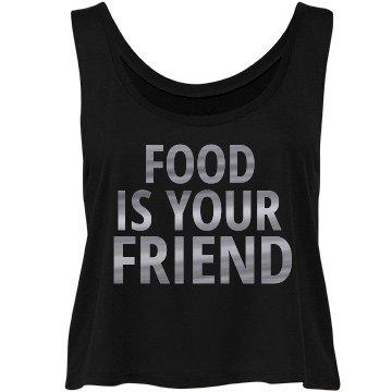 Food Is Your Friend Flowy Tee