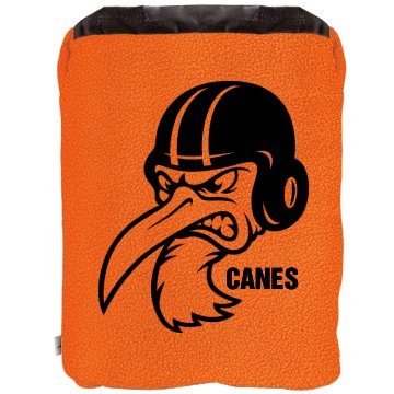 Footbal Mascot Blanket