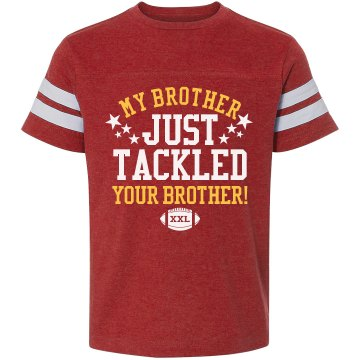 Football Brother Tackle