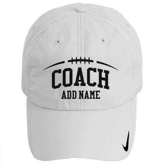 Football Coach Custom Practice Hat