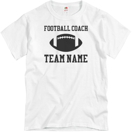 Football Coach Custom T-Shirts