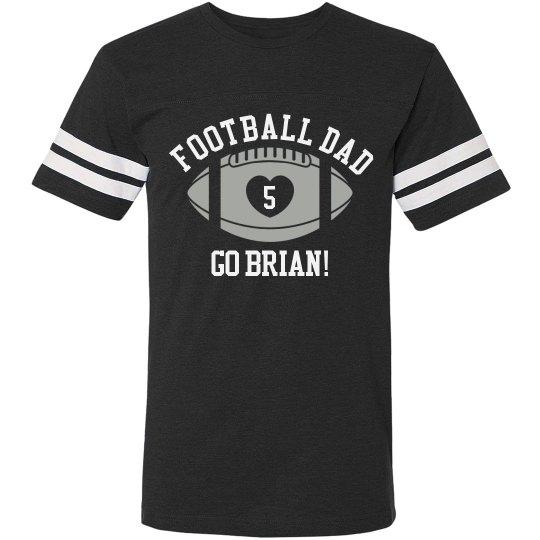Football Dad Custom Shirt