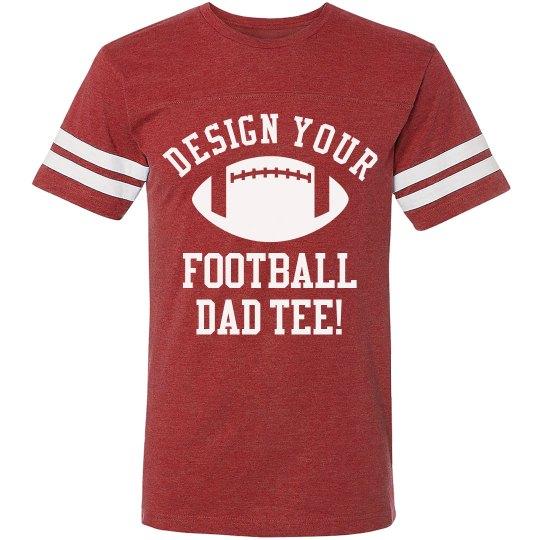Football Dad Custom Tee