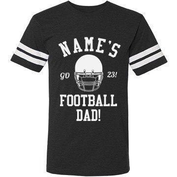 Football Family Dad