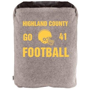 Football Fan Blanket