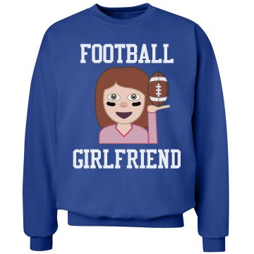 Football Girl Emoji