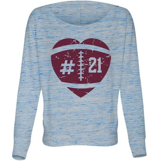 Football Girlfriend/Mom Shirt