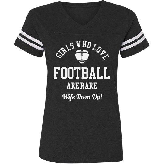 Football Girls Are Rare