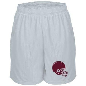 Football Helmet Shorts