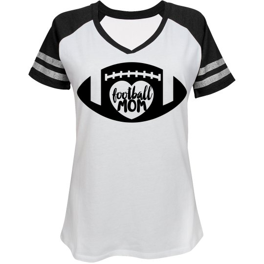 Football Mom - enter name and number on back