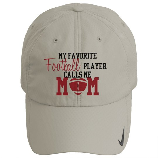 Football Mom - Fav Player hat