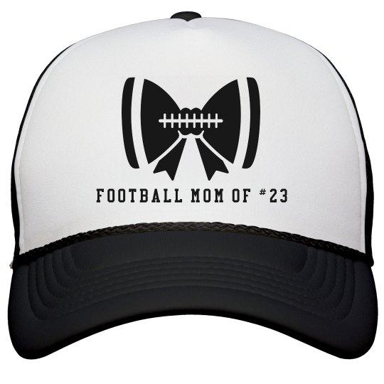 Football Mom Bow Hat