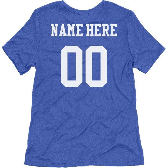 Football Mom Custom Name Number