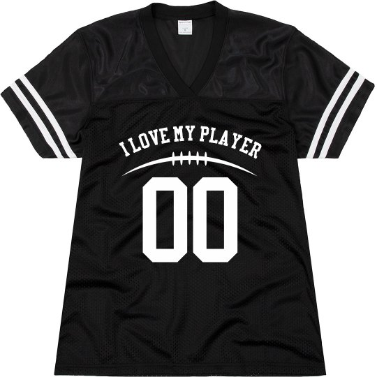 Football Mom Custom Player Number