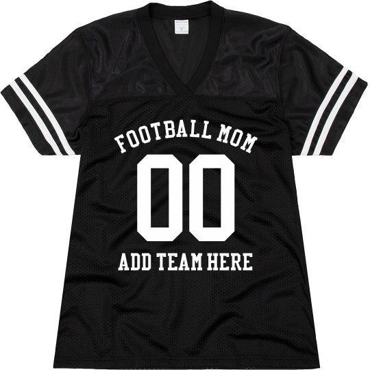 Football Mom Customizable Player