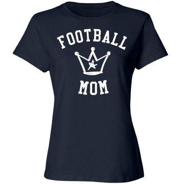 Football mom deserves crown