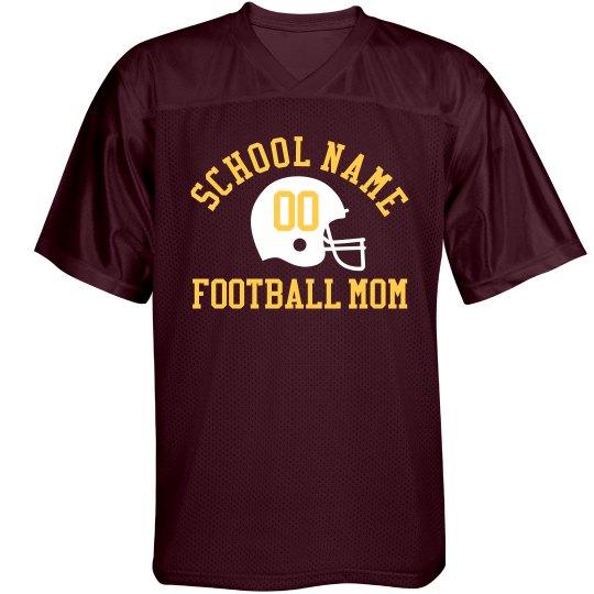 Football Mom Fan Spirit