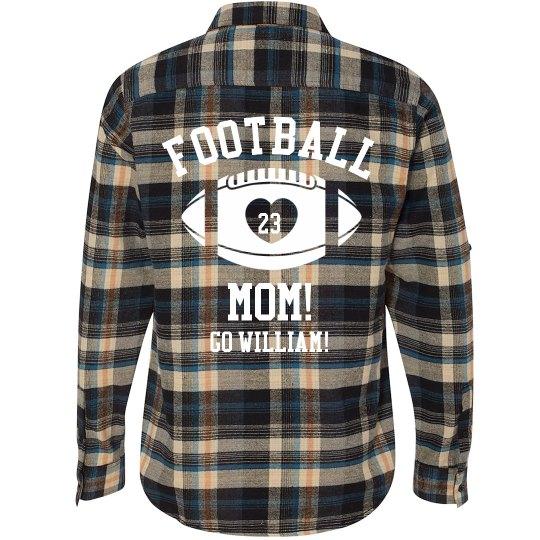 Football Mom Flannel