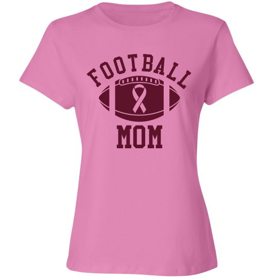 Football Mom Go Pink
