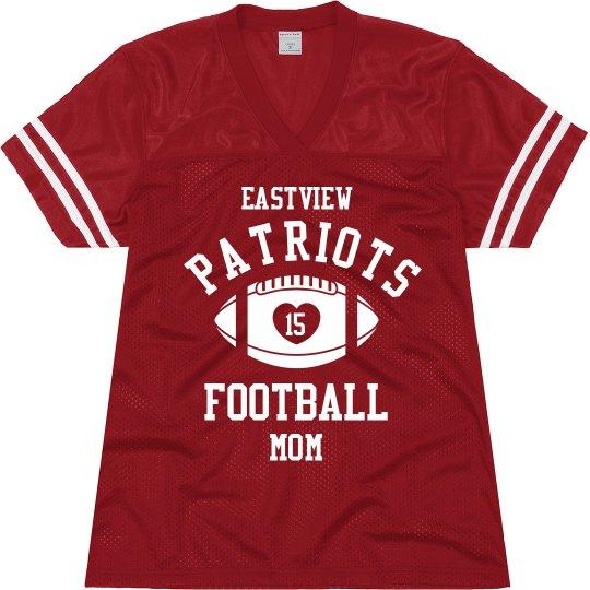 Football Mom Jersey Plus
