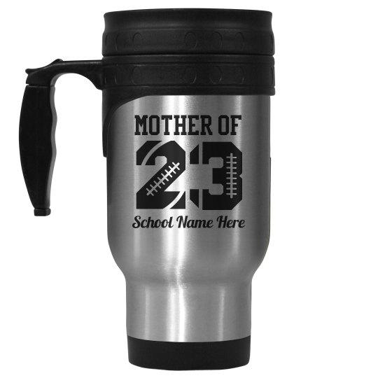 Football Mom Mug Number