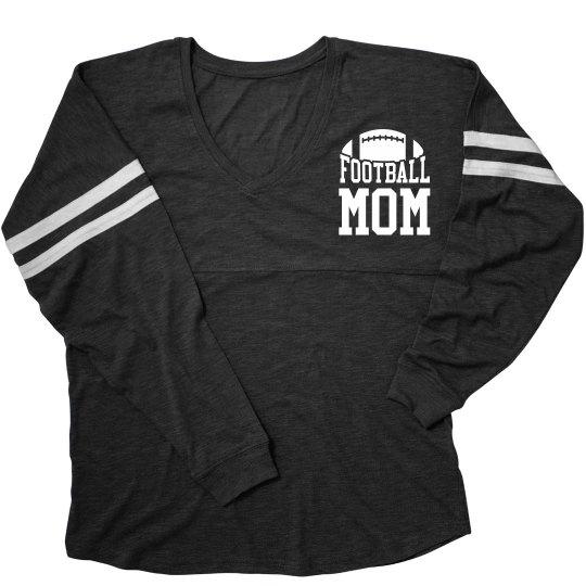 Football Mom Spirit Custom Back
