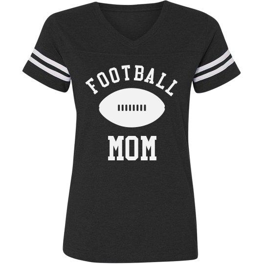 Football Mom Sweet And Simple