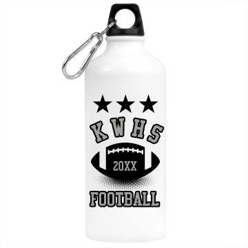 Football Stars Bottle