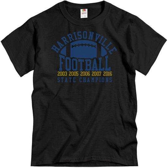 Football State Champions - Harrisonville