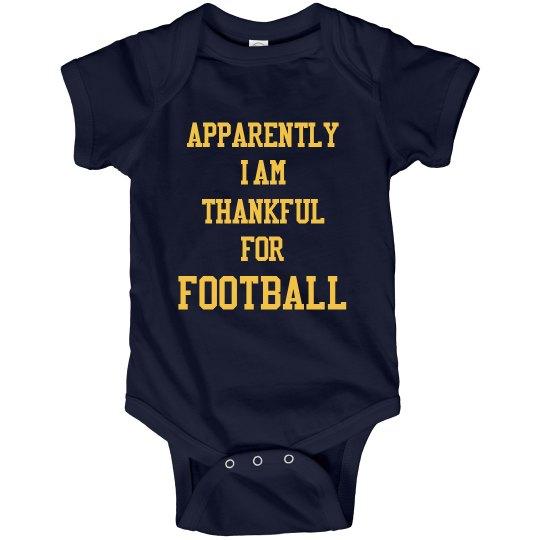 Football Thanksgiving Kid