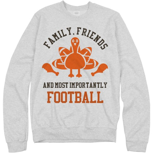 Football Thanksgiving Tee