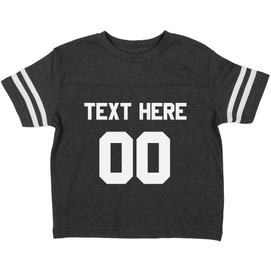 Football Toddler Custom Shirt