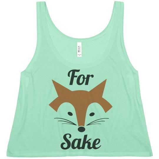 For Fox Sake Crop