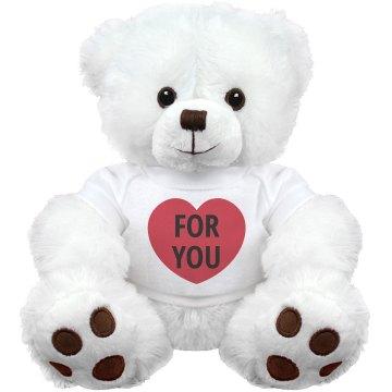 For You Teddy Bear