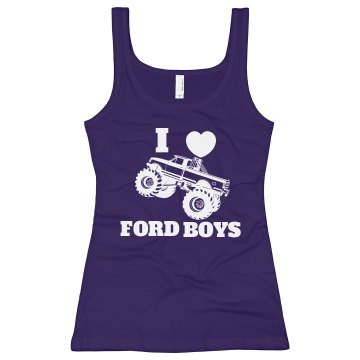 FORD BOYS TANK 1 - JuniorFit