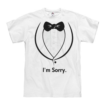 Formal Apology Costume