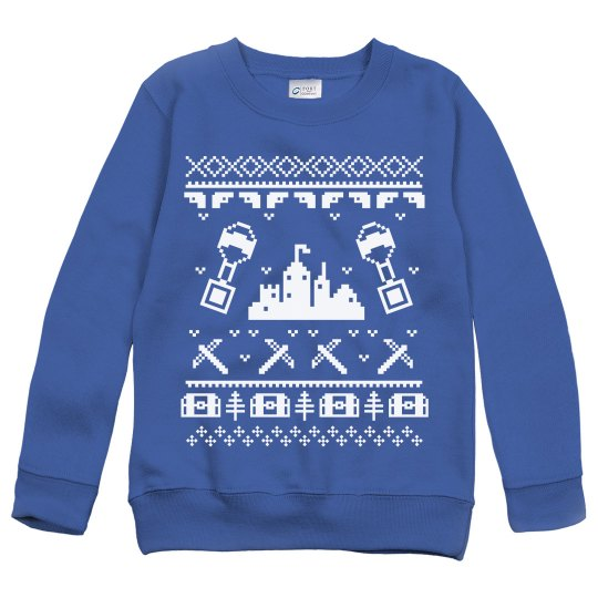 Fortnite before Christmas Kids Sweatshirt