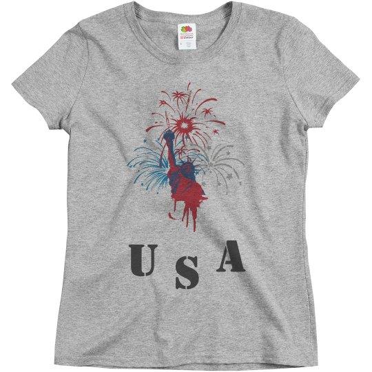 Fourth of July USA shirt