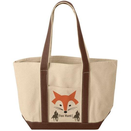 Fox Hunt Tote