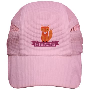 Fox Running Cap pink