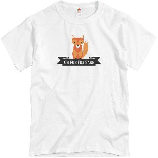 Fox T-shirt grey