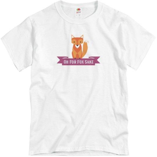 Fox T-shirt pink
